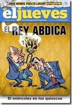 Portada censurada de El Jueves. 4-10 junio 2014
